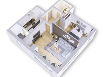 Apartamento T1 / Lisboa, Lumiar