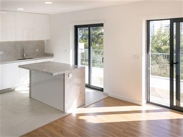 Apartment Floor Dwelling T2 / Cascais, Cobre