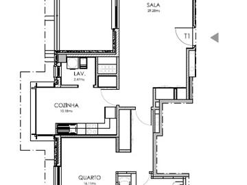Apartment T1 / Lisboa, Lumiar