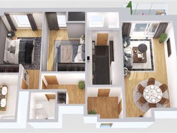 Apartment T2 / Lisboa, Lumiar